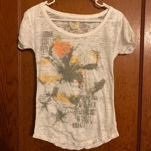 American Eagle Vintage T XS Summer Burnout Fabric